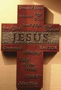 Pack of 4 In His Name Decorative Jesus Wall Cross Religious Decor by Roman, http://www.amazon.com/dp/B007HD88OI/ref=cm_sw_r_pi_dp_9fXRpb1ZADCN7