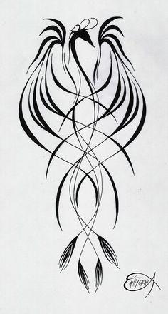 PhoeniX tattoo by EpHyGeNiA.deviantart.com on @deviantART