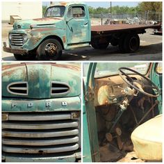 1953 Ford F100 FlatHead V83 speed columnshift manual
