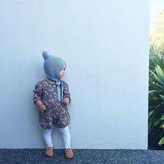 More gorgeous spring styling from @mummalysa  #acornkids #kidsbeanies #kidsaccessories #kidsfashion #kidshats #winterfashion #winterbeanies #beanies #hats #handknitted #handmade #merinowool #fairtrade #pixiebeanie #pixiehat #elfinbeanie