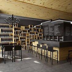 wine shop design - Buscar con Google