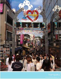 Harajuku district. Tokyo, Japan