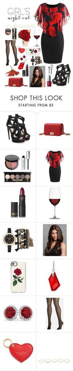 """""""Girls are roses 🥀"""" by emmyindo ❤ liked on Polyvore featuring Alexander McQueen, Bobbi Brown Cosmetics, Lipstick Queen, Nachtmann, True Craft, Casetify, Alex and Ani, Allurez, Avenue and Aspinal of London"""