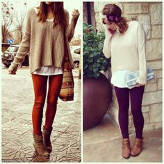 Apricot Lane Boutique- San Antonio, TX #bohochic #layers #sweater #fleeceleggings #booties #mrdheadband #aztec