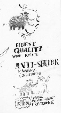 Sketching - How to Wash A Woolly Mammoth - Kate Hindley