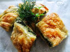 Savory Tart, Exotic Food, Spanakopita, Greek Recipes, Nom Nom, Homemade, Ethnic Recipes, Tarts, Cake Rolls