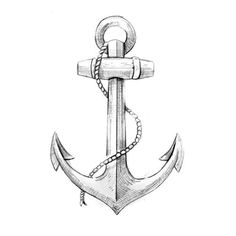 Check out this Black Anchor Tattoo Design Ideas. Get more unique tattoo ideas for men and women. See more ideas about Tattoos for Men, Tattoos for Women. Anchor Sketch, Anchor Drawings, Anchor Tattoo Men, Small Anchor Tattoos, Dream Tattoos, Dog Tattoos, Tattoos For Guys, Anker Tattoo Design, Compass Tattoo Design