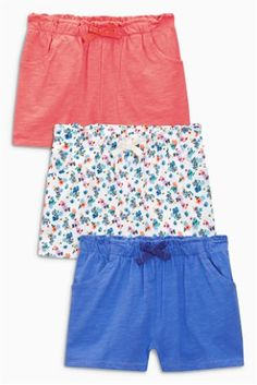 Multi Shorts Three Pack (3mths-6yrs)