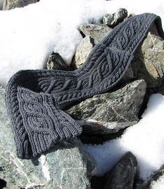 Kniting Pattern/ Cable Scarf pattern/Reversible Scarf Pattern Instant Download - Fall knitting project on Etsy, $4.00