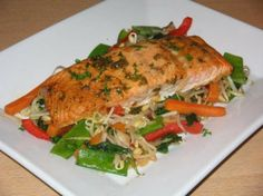 BAKED SEASONED SALMON | Quick Recipes & Kitchen Tips