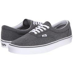 Vans Era Skate Shoes ($55) ❤ liked on Polyvore featuring shoes, sneakers, skate shoes, lace up sneakers, laced sneakers, lacing sneakers and laced up shoes