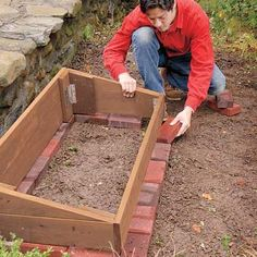 Install the Pavers   How to Build a Cold Frame   This Old House
