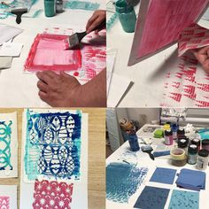 Mosaik Muellerin Art Screen Printing, Diy Crafts, Patches, Inspiration, Scrappy Quilts, Paper, Text Posts, Paintings, Drawings