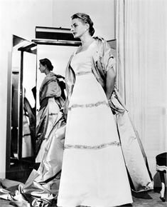 1956 Ingrid Bergman in Balenciaga