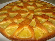 Tarte delicia de ananás - http://www.sobremesasdeportugal.pt/tarte-delicia-de-ananas/