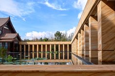 Completed in 2015 in Xishuangbanna, China. Images by Chen He. This luxury hotel resort was designed to become a hidden sanctuary in one of China's most emblematic regions. Sitting on the slope of a mountain the...