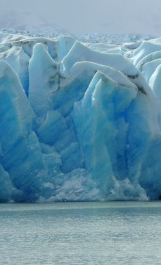 Grey Glacier in Torres del Paine NP in Patagonia, Chile