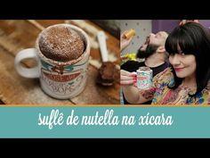 Suflê de Nutella na Xícara | COZINHA PARA 2 : Cozinha para quem não sabe cozinhar. Sem fogão, sem complicação. Vídeos de receitas deliciosas, com poucos ingredientes. Tudo simples e rápido.