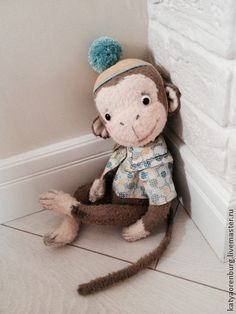 Teddy Bears handmade.  Fair Masters - handmade Nilsson.  Handmade.
