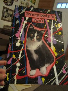 Everybody's Fool CAT ART by TheEscapistArtist on Etsy, $6.00