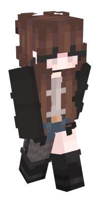 Melhores skins de Minecraft | NameMC Minecraft Skins Cute, Minecraft Mods, Skin Mine, Capas Minecraft, Minecraft Drawings, Minecraft Blueprints, Drawing Ideas, Banner, Kawaii