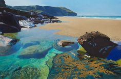 News   Bob Ruddd - Trebarwith bells. NorthConwell Paintings for Bath Society of Artists Exhibition 22nd April 2016