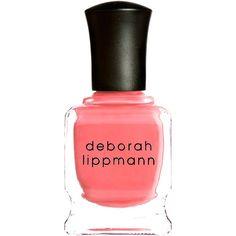 Deborah Lippmann Break 4 Love Nail Polish (£13) ❤ liked on Polyvore featuring beauty products, nail care, nail polish, nails, beauty, makeup, accessories, colorless, filler and deborah lippmann