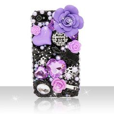 Crystal pearl anna sui hard case cover for iphone 6 7 plus 8 & samsung Iphone 4 Cases, 5s Cases, Iphone 6, Phone Covers, Tablet Cases, Cute Cases, Cute Phone Cases, Phone Logo, Samsung Galaxy S4 Cases