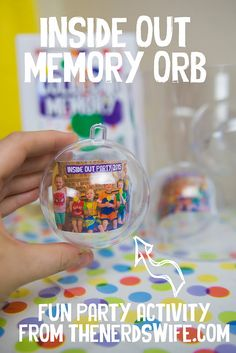 Everything you need to throw an awesome Inside Out Party to celebrate the new film from Disney! #InsideOutEmotions [AD]
