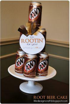 I'm Rootin For You! ~ fun gift idea