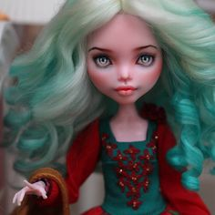# monsterhigh # dollstagram # dolls # монстрхай # oak # хобби # рисую # ооак # куклы # monsterhighrepaint # monsterhighcollection