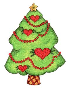 christmas tree in snow clipart photo images and cartoon pictures rh pinterest com christmas tree ornament clipart free christmas tree free clipart images