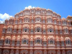 Hawa Mahal, is a palace in Jaipur, India, so named because it was essentially a high screen wall built so the women of the royal household could observe street festivities while unseen from the outside. Jaipur Travel, Cheap Flight Tickets, Rajasthan India, Landscape Architecture, Travel Guides, Tourism, Beautiful Places, Places To Visit, Explore
