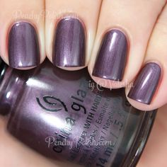 china glaze no peeking holiday 2014 twinkle collection peachy polishno p - The world's most private search engine Nail Polish Art, Toe Nail Art, Nail Polish Colors, China Glaze Nail Polish, Acrylic Nails, Classy Nail Designs, Simple Nail Art Designs, Pretty Nail Colors, Nailart