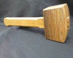 Traditional wooden mallet - Woodworking mallet - White Oak