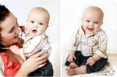 6 month baby pictures.