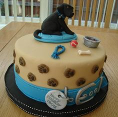 Labrador puppy cake   Craftsy