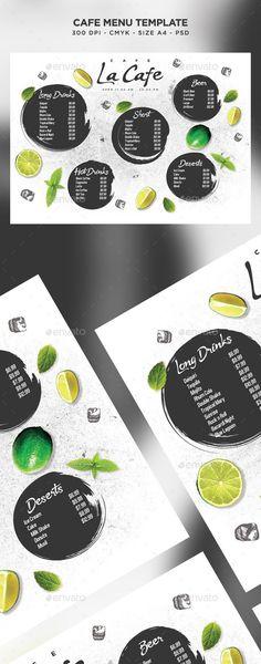 Cafe Menu by Nikolaev_ws | GraphicRiver