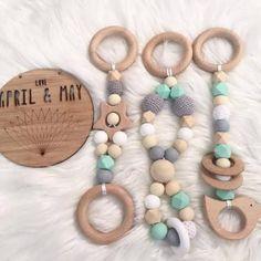 Teething Jewelry, Teething Toys, Teething Beads, Newborn Baby Gifts, New Baby Gifts, Baby Boy Shower, Baby Shower Gifts, Baby Toys, Baby Play
