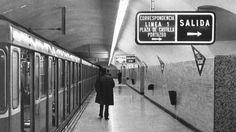 Metro Madrid, Metropolitan Line, Underground Tube, Metro Subway, Bernabeu, Barcelona City, Long Time Ago, Vintage Pictures, Mayo 2016