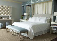 Jan Showers Soft Blue Bedroom