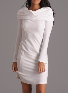 Yoga-Clothing.com - HoodieWrap Dress