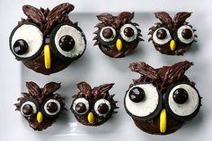 Wise Owl Cupcakes II