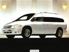 1996 Chrysler Town & Country Limited. Ours was dark green with tan leather