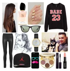 """""""Shout-Out To: taryngallaion"""" by qwerty-16-polyvore ❤ liked on Polyvore featuring WithChic, Joseph, Giorgio Armani, Jordan Brand, Payne, Casetify, Ray-Ban, Kate Spade, tarte and INIKA"""