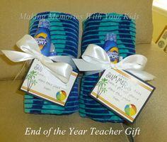 End of the Year Teacher Gift Idea