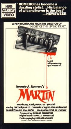Martin - The 50 Craziest Old School Horror VHS Box Covers   Complex