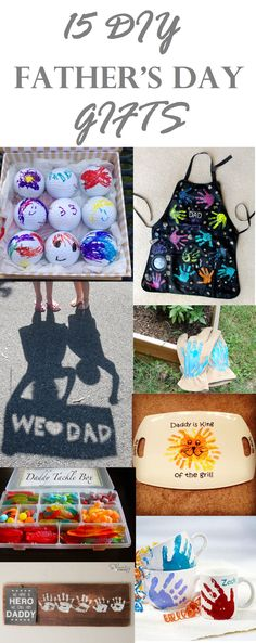 THRIFTY DIVAS DIY-15 Awesome Father's Day Gifts to DIY