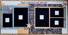 ALL STAR 2 page Kit: $14.00 All precut and ready to go! Includes accessories and precut wording. Just put it together! Email: ilov2cr84u@gmail.com for details.