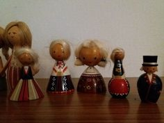 vasakult paremale/left to right: Viljandi, Audru, Lihula, Setumaa, Viljandi